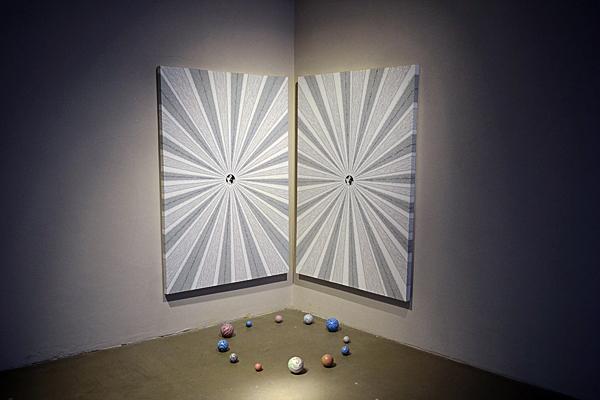 Alessandro Moreschini at OltreDimore gallery