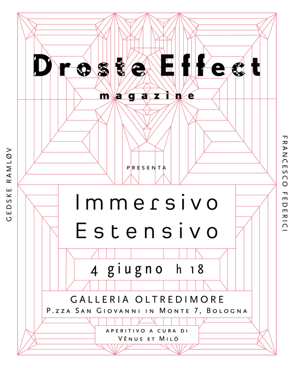 Droste Effect magazine presentation and party