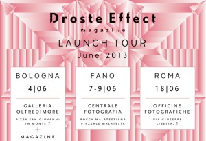 Droste Effect magazine launch tour