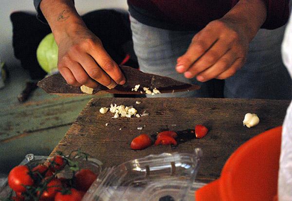 Cucinare in massima sicurezza, the knife.