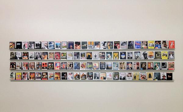 Daniela Comani's Top 100 Films, 2012 at MAMbo [installation]