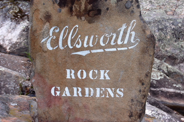 Jack Ellsworth, Ellsworth Rock Garden