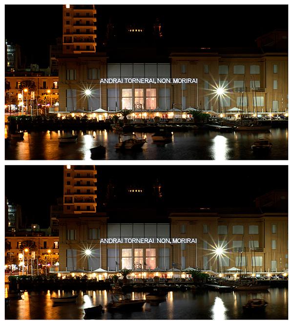 Nicola Nunziata Ibis Redibis Installazione-Porto-Vecchio Teatro Margherita Bari 2011. Courtesy the artist