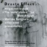 Droste Effect magazine in New York