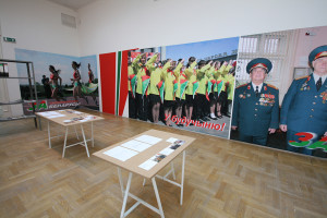 "Office for Anti-Propaganda, 2011 Installation view ""Opening the Door? Belarus Art Today"", Zacheta, Warszawa National Gallery(PL)"