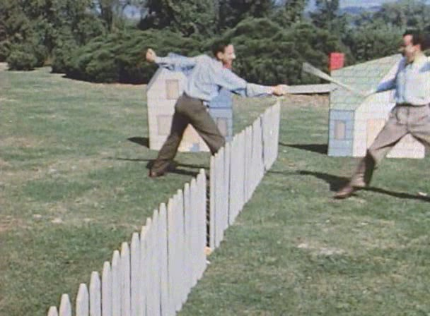 Neighbours and Norman McLaren - Droste Effect Mag