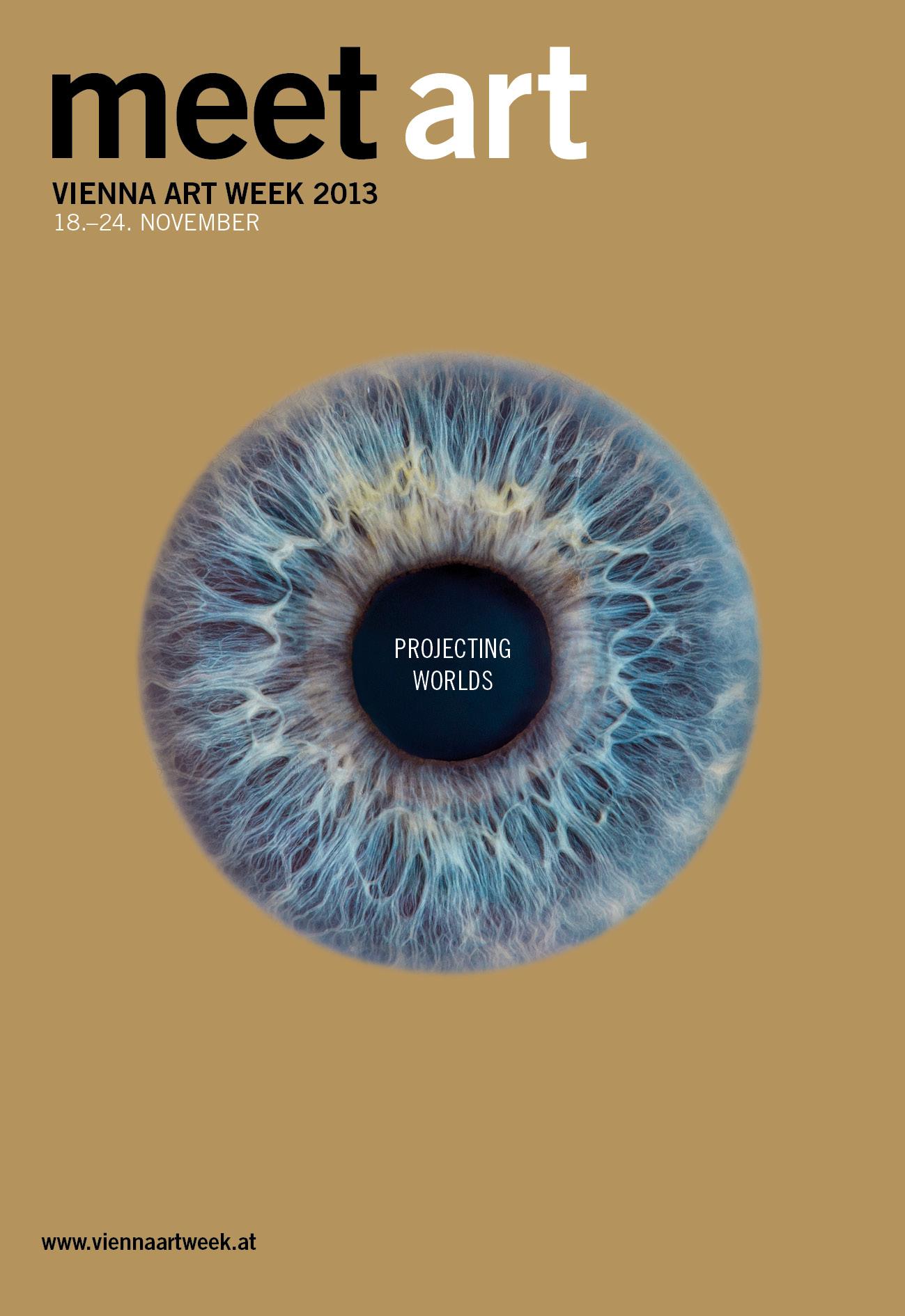VIENNA ART WEEK 2013, 18. – 24. November 2013 Design: Perndl+Co Foto: Klaus Fritsch