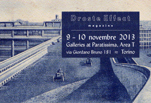 Droste Effect magazine at G@P- Galleries at Paratissima