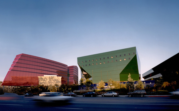 The Pacific Design Center in Los Angeles, CA