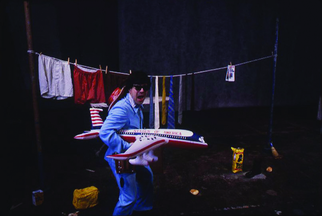 Michael Smith, Busman's Holiday Retreat Revue, performance at The Performing Garage, May 1981. Courtesy the artist. Photograph by Kevin Noble