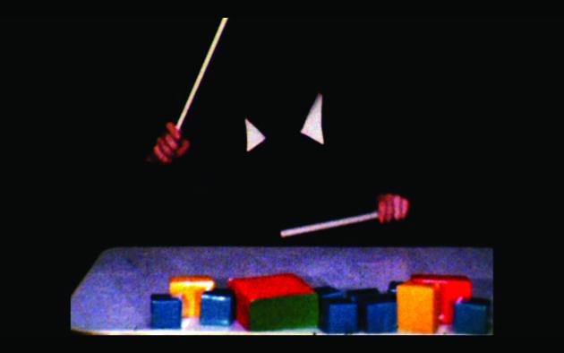 Ericka Beckman, still from We Imitate; We Break Up, 1978. Super 8 film, color, sound; 28 minutes. Courtesy the artist