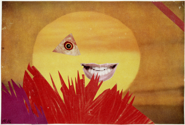 Kleine Sonne (Little Sun) 1969 Collage 16.3 × 24.2 cm Landesbank Berlin AG Please note that reproductions must not be cropped, overprinted, tinted, reversed or subject
