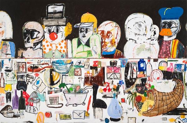 Eddie Martinez, Saatchi Gallery