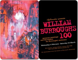 William Burroughs 100