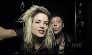 I have to admit, when I heard that the mighty Alison Mosshart and Jamie Hince of the Kills were presenting Tate's latest film series on art, I thought they would be tackling the little discussed subject of the cross-over between music and art. The topic, though, was not about the double act …