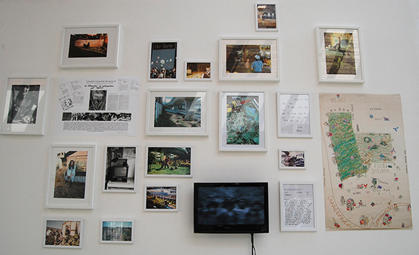 "Bonnie Ora Sherk Crossroads Community (The Farm) 1974 -ongoing Alternative art space DVD 18'02"" Courtesy the artists"