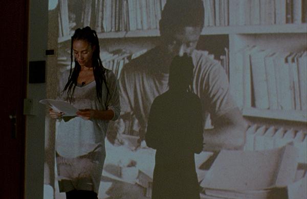 "Filipa César Conakry 2012 10'20""/16 mm transferred to HD video, sound, color, 10'20"""