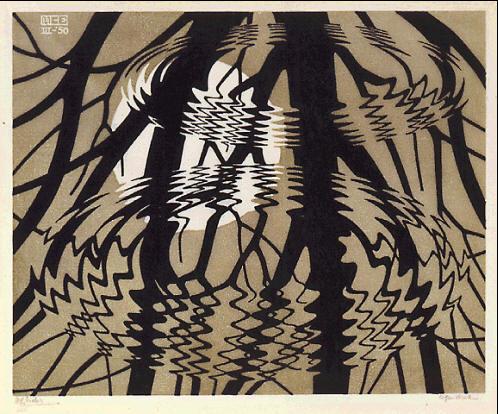 Escher, Chiostro del Bramante