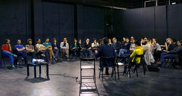 The Artist and the Stone: a conversation between Viviana Checchia, Giuliana Racco and Matteo Guidi