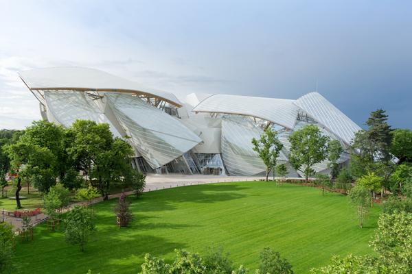 Louis Vuitton Foundation for Contemporary Art, Paris ©Iwan Baan 2014