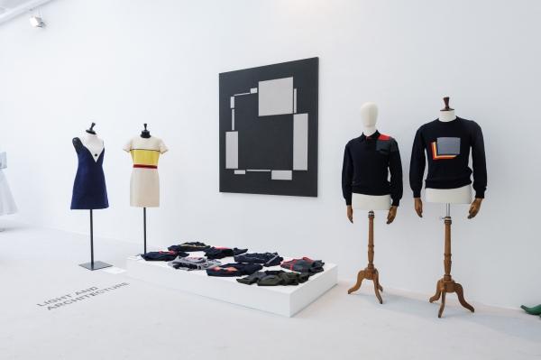Designer Mario Caruana, opera di Marco Tirelli, Galleria Giacomo Guidi
