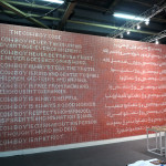 Ahmed Mater, Athr Gallery, 2015 Armory Show