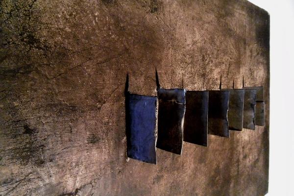 Omaggio a Burri, Galleria Acquario