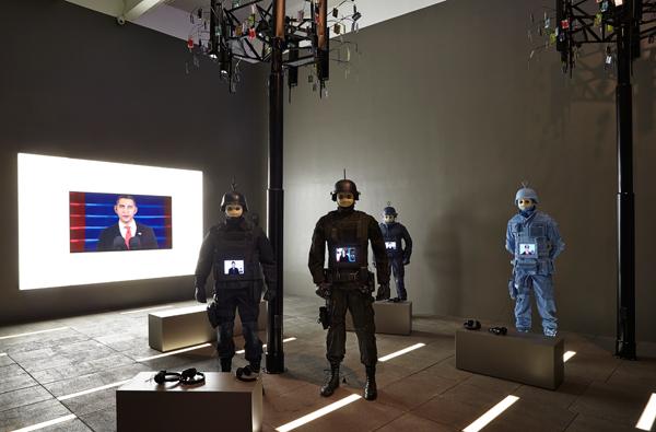 Josh Kline, 2015 Triennial, New Museum