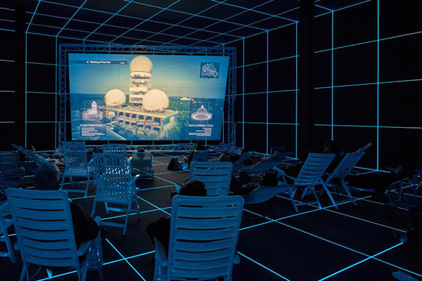 Factory of The Sun, ©Hito Steyerl, Courtesy: the artist; Foto: Manuel Reinartz, German Pavilion.