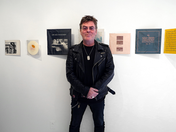 Andy Rourke, The Smiths, Rooster Gallery, New York