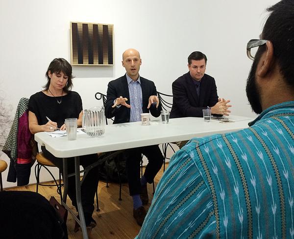 Jeffrey Gibson, Sara Reisman, Glenn Adamson, John P. Lukavic, Marc Straus Gallery
