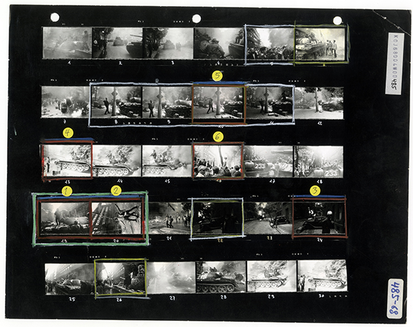 Josef Koudelka, Foam, Magnum Contact Sheets