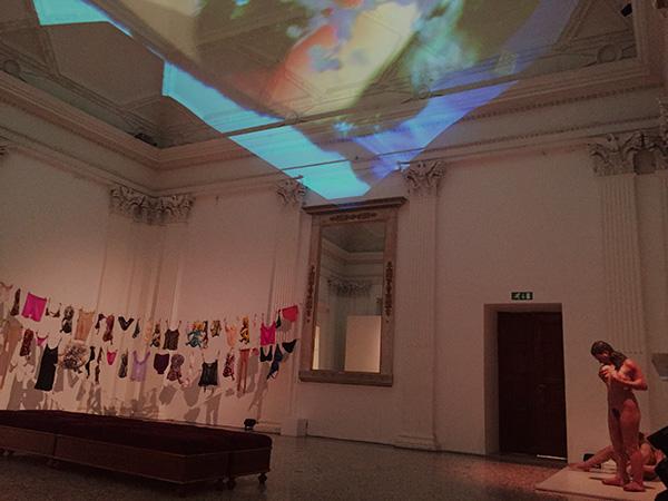 "Exhibition view, ""La Grande Madre"", Palazzo Reale, Milan"