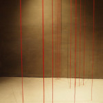 Fred Sandback, Proportio, Palazzo Fortuny, Venice Biennale