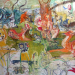 Two Palms, Cecily Brown, Armory, show, art fair, New York, 2016