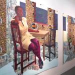 Njideka Akunyili Crosby, Victoria Miro, Armory, show, art fair, New York, 2016