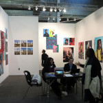 Namsa Leuba, Echo Art, Armory, show, art fair, New York, 2016