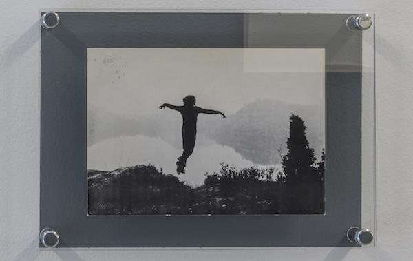 Gino De Dominicis, Tentativo di volo, 1970 Invitation flyer. Hannover, Videogalerie Gerry Schum. cm 14,5x21, Giorgio Maffei Collection