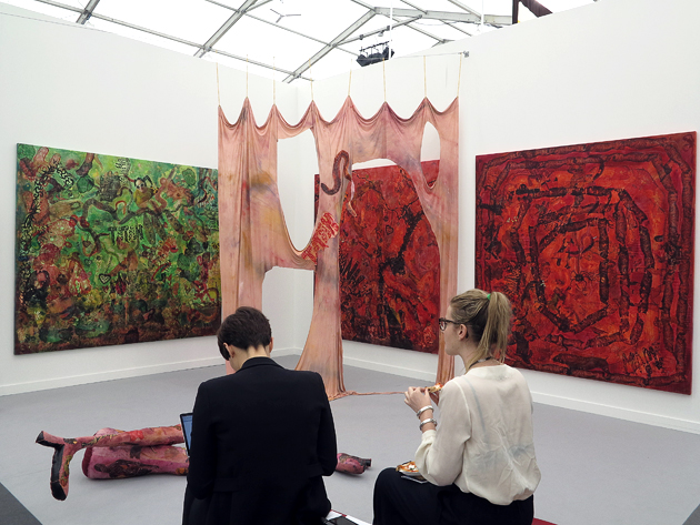 Supportico Lopez, Frieze New York 2016