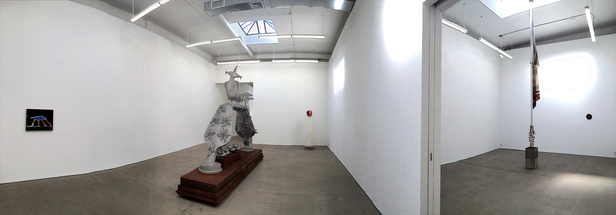 CLEARING, Harold Ancart, Bruno Gironcoli, Huma Bhabha, Marina Pinsky, Bushwick, Bushwick galleries, New York