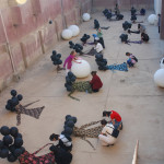 /// Anne Bean, MASS, 2009, ex- ba'athist regime prison yard, Iraq