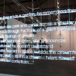 Cerith Wyn Evans, White Cube, Armory week 2017, Armory show, New York, Armory show 2017