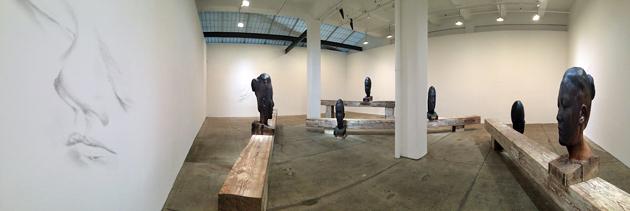 Jaume Plensa, Galerie Lelong, Armory week 2017, Armory show, New York, gallery