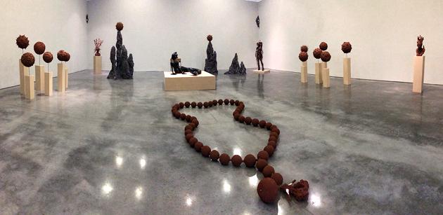 Wangechi Mutu, Gladstone Gallery, Armory week 2017, Armory show, New York, gallery