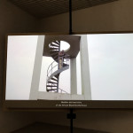Video from the installation Cinema Olanda by Wendelien van Oldenborgh at the Dutch Pavilion