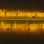 Joseph Kosuth, Vistamare, Armory Show 2018, Armory, Armory Show, art fair, Armory week, New York, 2018