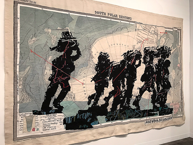 Armory Show 2018, William Kentridge, Lia Rumma, Armory, Armory Show, art fair, Armory week, New York, 2018