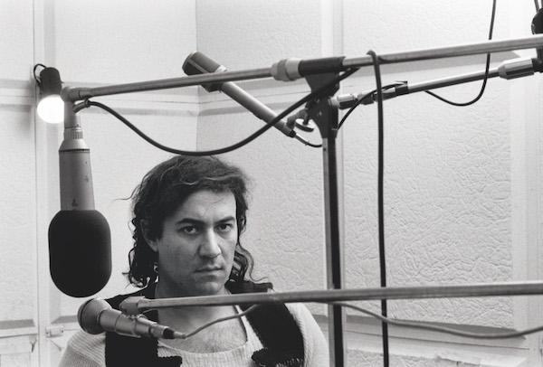 Demetrio Stratos-la registrazione di Metrodora negli studi Ricordi a Milano, 1976, courtsey of Roberto Masotti Lelli and archivio Masotti, Yinchuan Biennale
