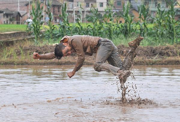 Li Binyuan, Freedom Farming,2014, courtesy artist, Yinchuan Biennale
