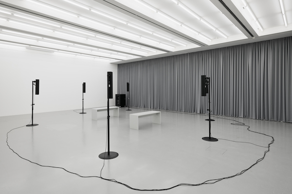 JAMES RICHARDS Abyss Film, Kestnergesellschaft, Hannover, 2016-2017 Installation view Courtesy Isabella Bortolozzi, Berlin